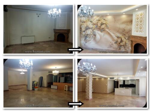 بازسازی آپارتمان های قدیمی